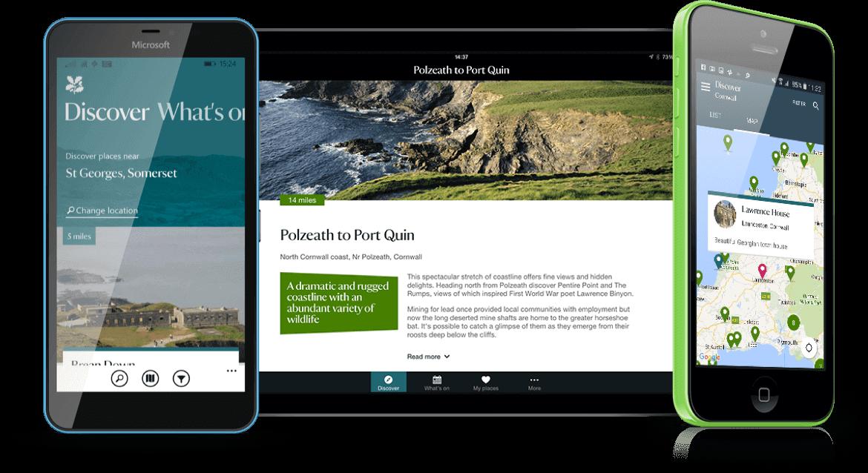 Tommy Toner › National Trust apps